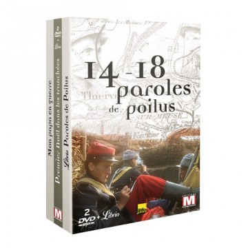 Coffret 14-18   paroles de poilus