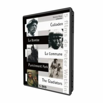 Coffret Watkins 2010 (Commune,Punishment Park, la Bombe, Culloden, The Gladiators)